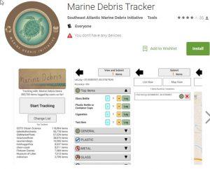 marine debris tracker